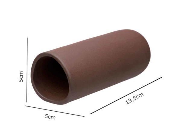 Gliniana grota czekoladowa wymiary