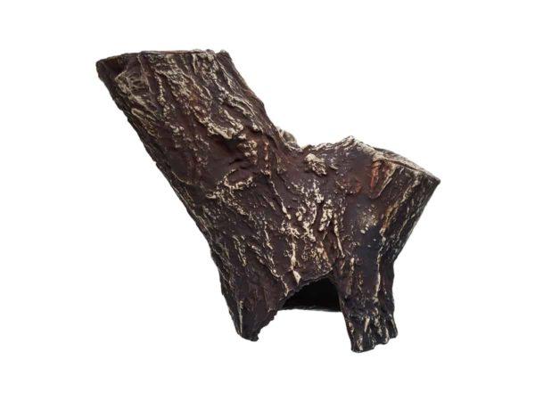 Wydrążony pień drzewa pion