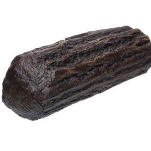 Grota gliniana duża imitująca drewno tył