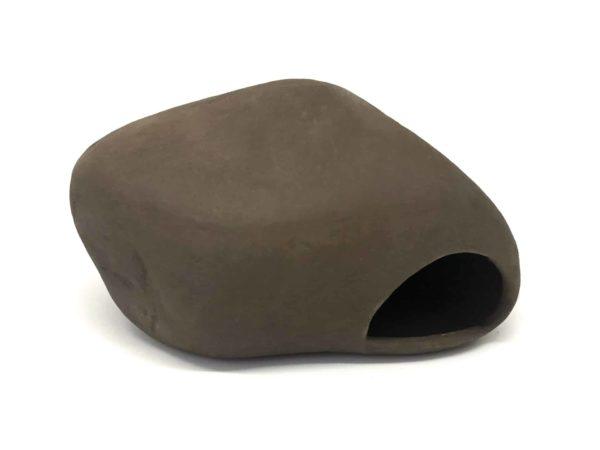 Kamień z gliny dla pielęgnic bok