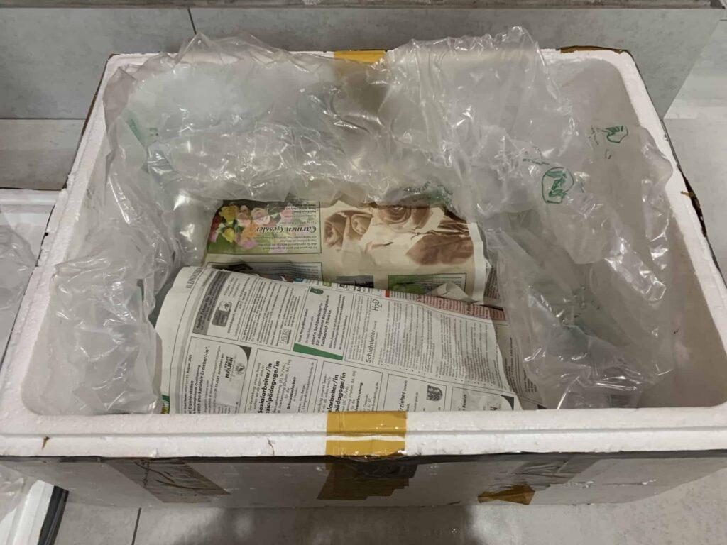 Pakowanie ryb box